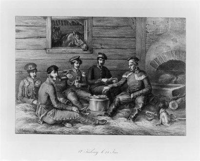 06 509285 410x330 Le campement de la Grande Armée, épisode 5 : préparer la soupe