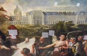 20190917 Restauration tableau Dulin AS 4 300x194 La renaissance d'un chef d'oeuvre