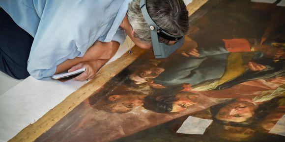 20190917 Restauration tableau Dulin AS 33 Vivez l'été au musée de l'Armée : les 7 activités incontournables !