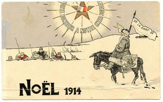 Carte de Vœux pour Noël 1914