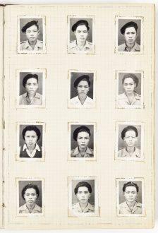 Henri Craman et divers auteurs, Album de photographies relatif aux commandos n°24 et 25, 1951-1953