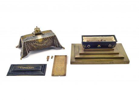 Miniature Tombeau Napoléon par Quesnel
