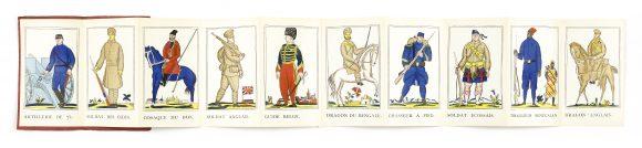 Raoul Dufy, Les Alliés, Petit panorama des uniformes, 1915
