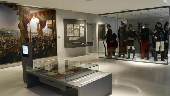 Département 2 guerres mondiales salle Alsace-Lorraine