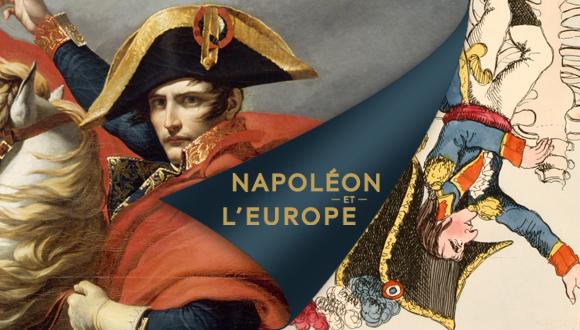 """Affiche exposition """"Napoléon et l'Europe"""""""