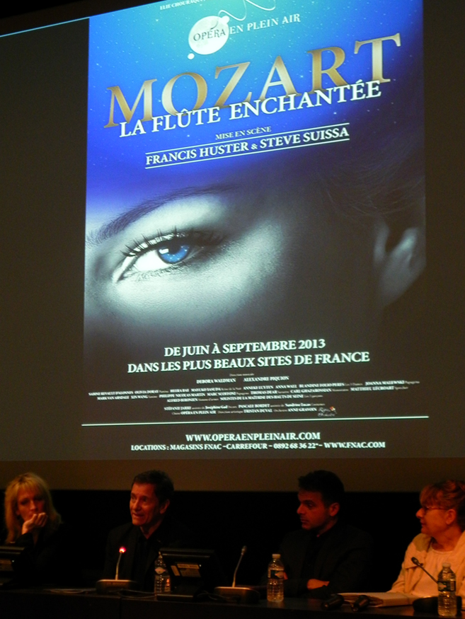 """""""La flute enchantée"""" de Mozart, l'affiche"""