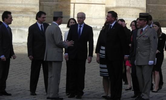 Bandeau visite expo Président Slovénie 20130417