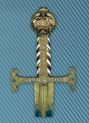 Epée de François 1er dire de Pavie