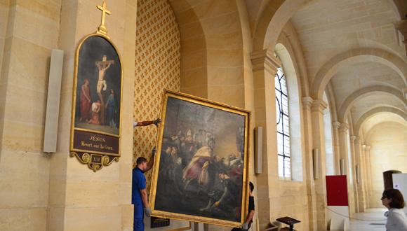Bandeau : retour oeuvres au musée de l'Armée 20130823