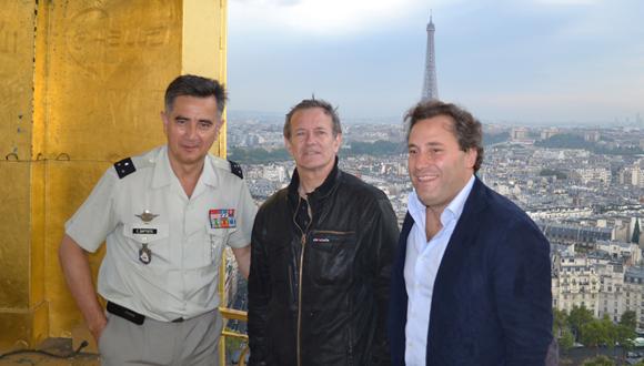 Visite Francis Huster pour Opéra en plein air 2013 : bandeau