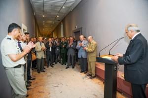 Inauguration de l'exposition 1943 : la libération de la Corse