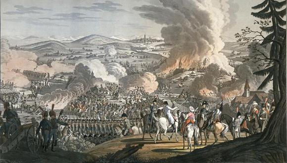 Bataille d'Austerlitz 2 décembre 1805, traditions Saint-Cyrienne: bandeau