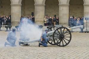 La Sainte-Barbe, canon de 75 1914-1918