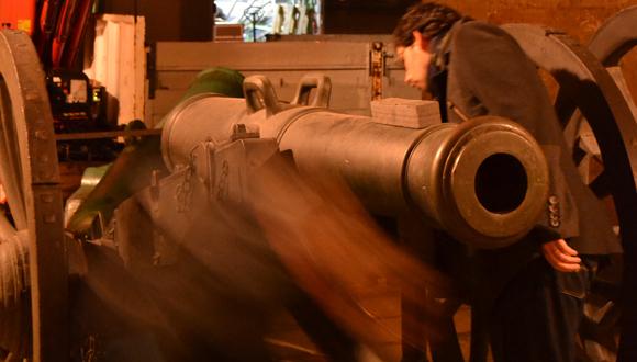 Canon Gribeauval pour le centre d'interprétation de la bataille de Valmy
