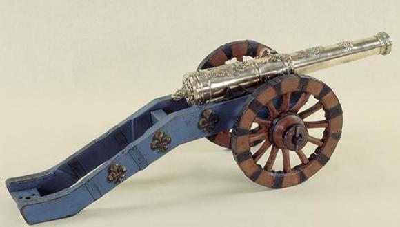 Prêt exposition modèle d'artillerie musée municipal de Parthenay