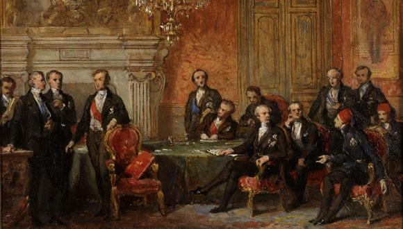 La guerre de crimee et le Congrès de Paris