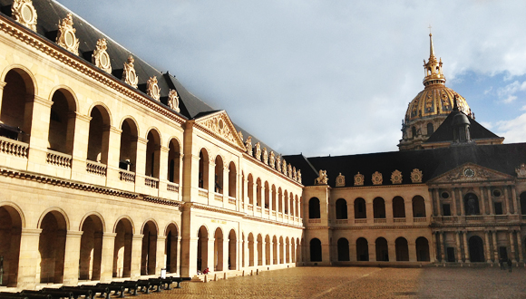 cour d'honneur de l'Hôtel national des Invalides