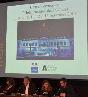 MA BA opa 1 20130304 300x330 Patrick Poivre dArvor et Manon Savary au musée de lArmée