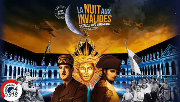 Bandeau : La Nuit aux Invalides 2014
