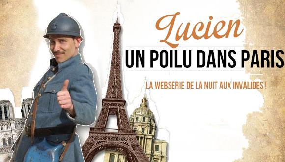 LNAI 2014 web série Lucien, un polu dans Paris
