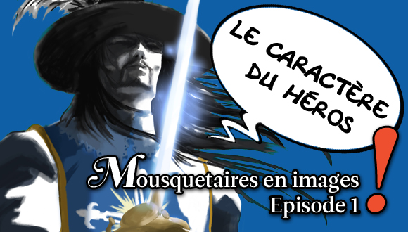 Mousquetaires en images : episode1 bandeau