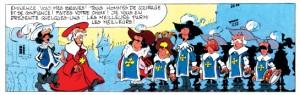 """Case 1 de la page 253 de """"Câline et Calebasse"""", Intégrale 1, Cauvin, Mazel © Dupuis, 2014"""