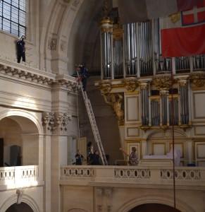 Cathédrale Saint-Louis des Invalides retour d'emblemes