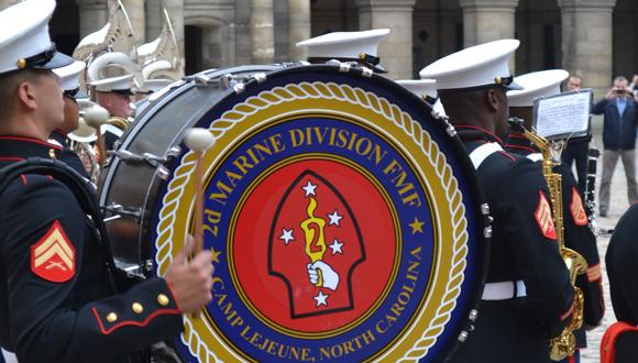 Fanfare du 2nd Marines Corps : bandeau