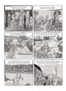 """Page 29 du tome 2 """"L'Histoire de D'Artagnan"""" MILADY par Agnès Mauprè © Ankama éditions – 2010"""