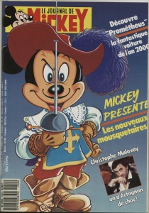 Couverture du Journal de Mickey n° 1820 © Disney Hachette Presse