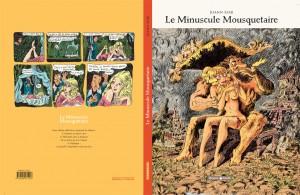 """Illustration couverture """" Le Minuscule Mousquetaire """" Sfar © DARGAUD, 2014"""
