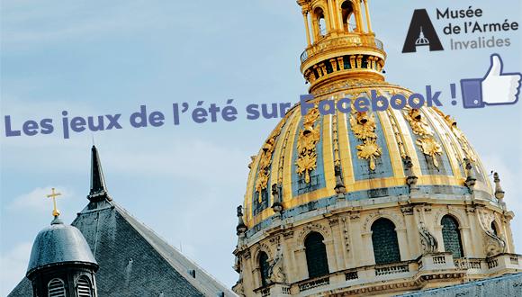 Les jeux de l'été sur Facebook : bandeau