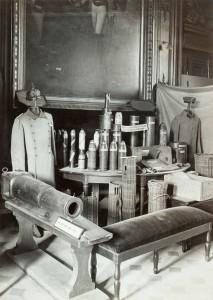 Salle d'honneur du musée de l'Armée au cours de la Grande Guerre © Paris, musée de l'Armée dist. RMN-GP
