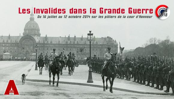 Bandeau les Invalides dans la Grande Guerre