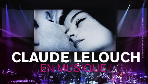 Ciné-concert Claude Lelouch en musique : bandeau