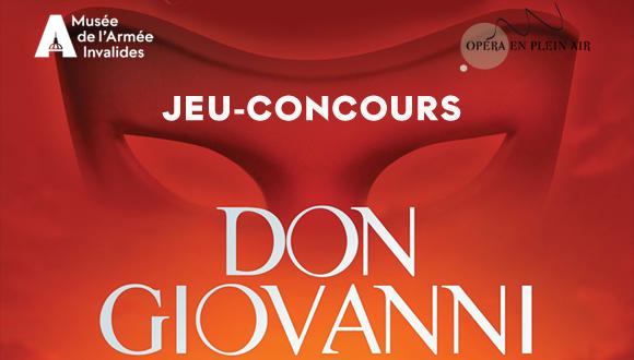 Jeu-concours Don Giovanni !