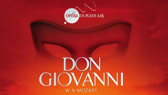 Opéra en plein air 2014, Don Giovanni de Mozart : bandeau