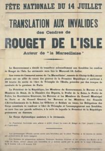MA BA IGG ep14 2 201409 209x300 Les Invalides dans la Grande Guerre, épisode 14 : transfert de la dépouille de Rouget de Lisle