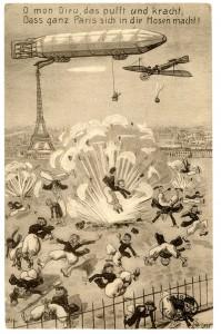 Carte postale allemande © Paris, musée de l'Armée