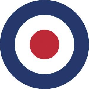 Cocarde  de la Royal Air Force britannique  © Paris, musée de l'Armée