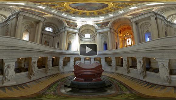 L'église du Dôme en 360° : bandeau