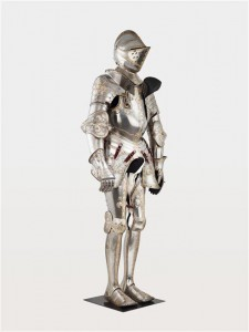 Armure de François Ier, par  Pirger Degen (actif dans la 1ère moitié du 16e siècle) ,  graveur Seusenhofer Jörg (1510-1580) ,  armurier autrichien