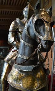 Armure équestre de François Ier