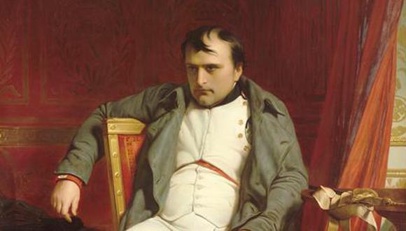 Napoléon à Fontainebleau, le 31 mars 1814, par Paul Delaroche (1797-1856)