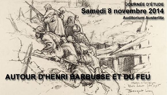 Journée d'étude : Autour d'Henri Barbusse et du Feu