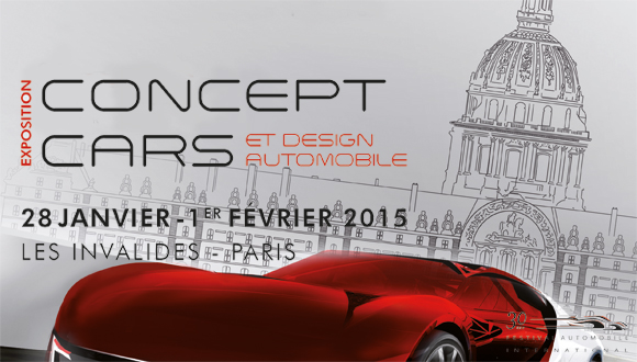 Affiche 30e Festival Automobile International