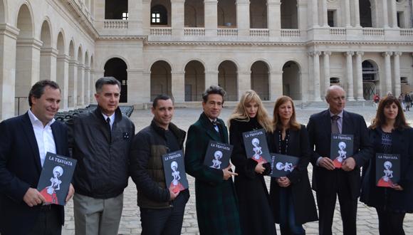 "Conférence de presse ""Opéra en plein air"" : ""La Traviata"" de Giuseppe Verdi"