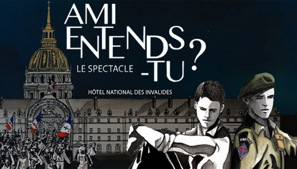 "Spectacle : ""Amis-entends-tu ?"""