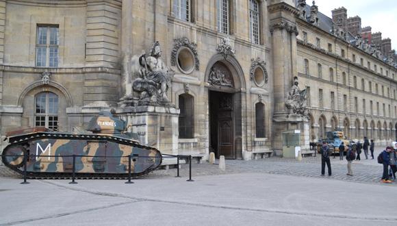 """Deux chars exceptionnels pour l'exposition """"Churchill - de Gaulle"""""""