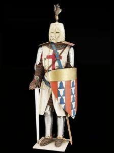 Chevalier du 13e siècle, réalisé d'après le sceau d'Hugues de Châtillon © Paris - Musée de l'Armée, Dist. RMN-Grand Palais / Emilie Cambier